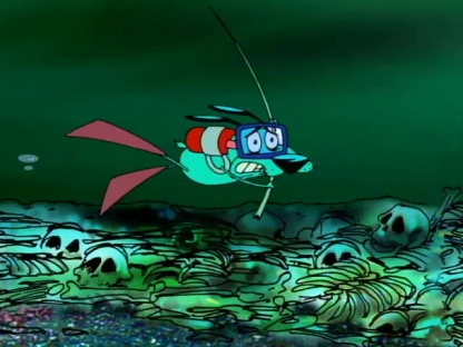Courage the Cowardly Dog - Queen of the Black Puddle00021