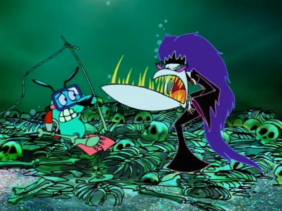 Courage the Cowardly Dog - Queen of the Black Puddle00023